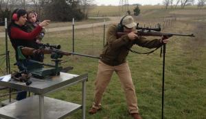 Stick shooting